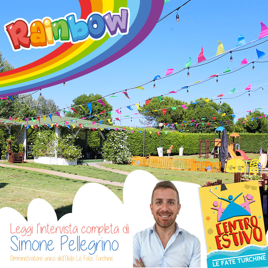 Rainbow – Leggi l'intervista completa di Simone Pellegrino